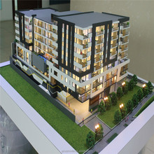 ABS ,Plastic Material for Miniature Architectural model ,Real Estate Model with lights system