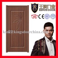 PVC finished swing opening style interior doors ME-688