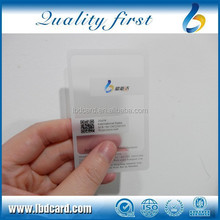 Good quality CMYK printed blank business cards wholesale