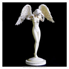 2014 China Supplier hot new products resin nude angel figurines statuettes wholesale nude figures