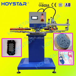 non-slip silicone ink logo rapid screen printing machine for gloves