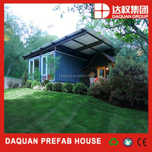 Wuhan daquan brand Fashionable Movable Luxury One Floor Container Houses with ce,iso