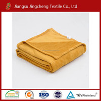 Coral fleece blanket with solid color 100% polyester high quality with cheap price