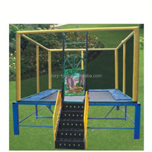 biggest trampoline, ZY-TR149 funny mobile bungee trampoline
