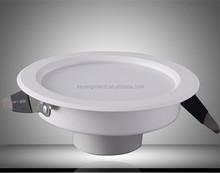Exclusive design 4W/6W/8W/10W/12W/16W round led down light / 80 lm/w driverless led downlight / Led downlight manufacture supply