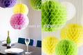 decoração de festa de papel tecido bola de favo de mel com menor preço