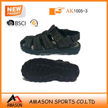 2015 latest design new fashion Man sandal platform