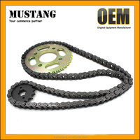 OEM Spare Parts CG125 CG125 Motorcycle front sprocket CG125 Motorcycle chain wheels