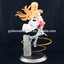 Acción Anime japonés Sword Art Online Asuna PVC Figure Toy figura linda Kotobukiya Aincrad