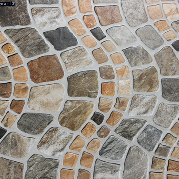 400x400mm Imitation Stone Veranda Floor Tile Outdoor Garden Balcony ...