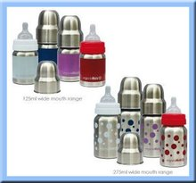 BPA FREE stainless steel adult baby bottle