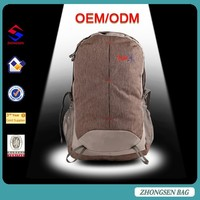 Rain cover hiking camping sports backpacks, 35L nylon durable rucksack with laptop compartment