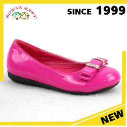 Genuine Leather Or PU Upper Girls Pink Glitter Shoes