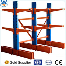 ISO9001&CE Cantilever Rack for storage longl pipes, construction materials/double &single side Cantilever Rack system,made in CN