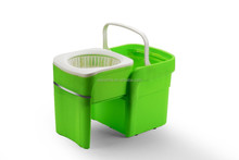2015 Newest Product Cheap Easy Washing Portable Draw Type Plastic Mop Bucket LP-09