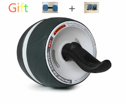 JeSun Sport hot !!! Perfect Fitness steel Ab Wheels Abdominal Exercise Wheel ab roller wheel +86 13532330379
