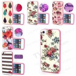 2015 New Arrival TPU Bumper + Plastic Back Case for iPhone 5s 5