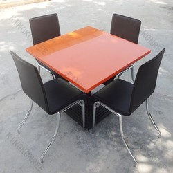 KKR cheap solid surface marble dining table singapore