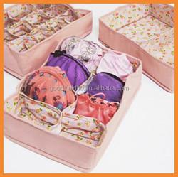 2015 new drawer colorful underwear storage box HWI20050