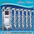 Metal gate modelos automáticos de garagem portões de extensão