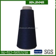 20ne 100%polyester spun yarn factory reasonable price for knitting