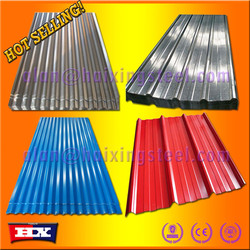 ISO9001 standard Promotion goods/zinc coated steel roof tile