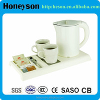 Hotel double shell electric kettle