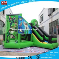 2015 New Designed Inflatable Bouncer Rental Commercial Bouncers Climb and Slide Inflatables