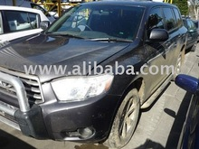 toyota kluger petrol a/t small body damage