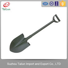 Durable agriculture garden hand tools post hole spade shovel