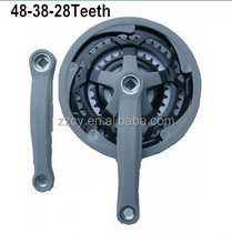 Muti-speed bicycle chainwheel and crank used for mountain bicycle (FACTORY)