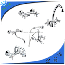 two button bath shower mixer tap price cheap/two handle shower mixer price