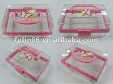 Fashion plastic/ beauty make-up box/accessories