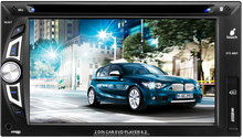 NEW DESIGN 6.2 TFT Touch Screen Car DVD Player GPS/Bluetooth/rearview/AMFM Radio STC-6087