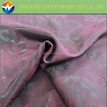 Polyester Jacquard Satin Fabrics for lining