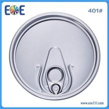 pet bottle cover 401# 99mm aluminum easy open can cap for edible oil