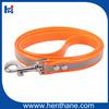 Personalize Snap Hook Fluo Orange TPU Pet Dog Collars
