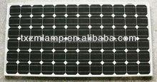 2015 120w Monocrystalline Silicon solar panels made in yangzhou