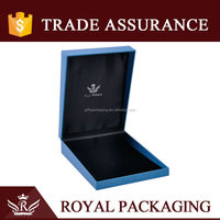 Factory Supply Royal Blue Jewelry Storage Box
