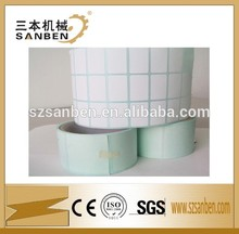 Venta al por mayor de la etiqueta del fabricante sanben auto-adhesivo etiqueta etiqueta en blanco para la venta