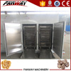 Hot air industrial electric or steam vegetable dehydration machine