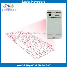 2015 newest mini wireless Laser virtual external keyboard for mobile phone