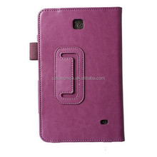 Crazy horse leather cover case for Samsung Galaxy Tab 4 T230 tablet PC