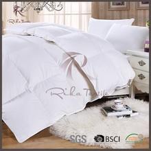 Plain white thick microfiber filling quilt