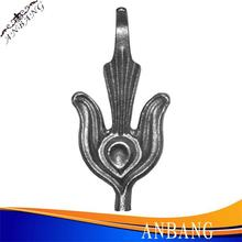 wrought iron fence spear points