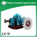 Pelton turbine mini hidro gerador / Pelton roda