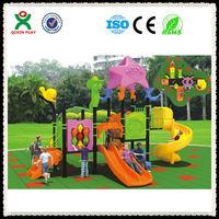 Hot sale!!! list of playground equipment/slides playground equipment/playground prices QX-050A