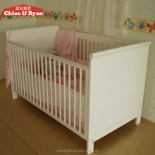 2-in-1 and playpen combo-espresso, white, cherry, natural baby crib