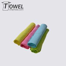 High quality dog pet cooling pva towel lemon green