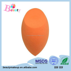 Hydrophilic Latex Free Polyurethane Foam Sponge /Makeup Sponge Blender / Free Samples Beauty Cosmetic Box Or Bag With Label